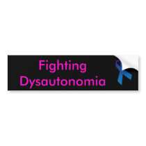 Fighting Dysautonomia Bumper Sticker