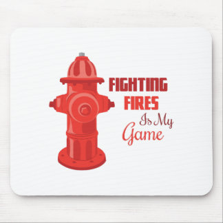 Fighting Fires Mousepad