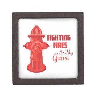 Fighting Fires Premium Trinket Box