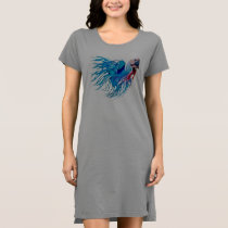 fighting fish dress