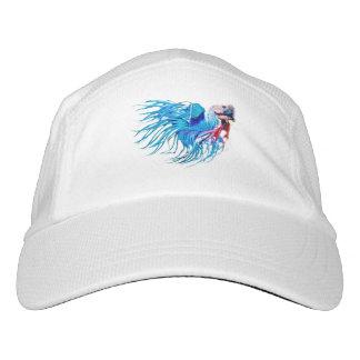 fighting fish hat