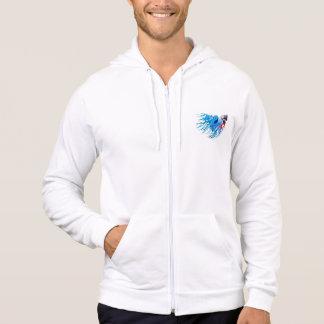 fighting fish hoodie
