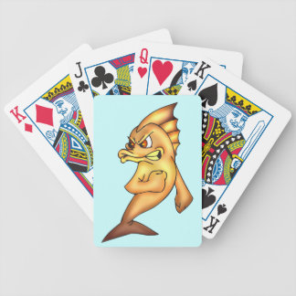 Fighting Fish Playing Cards
