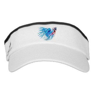 fighting fish visor