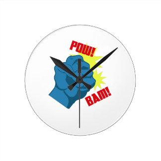 Fighting Fist Wall Clock