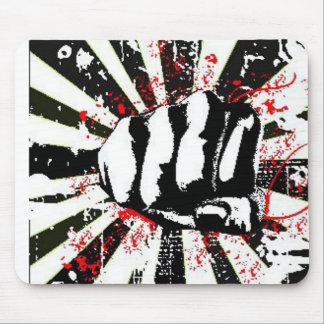 Fighting Fist Mouse Pad