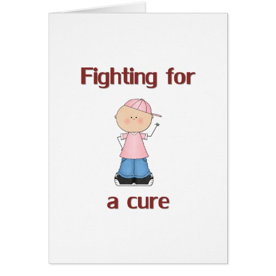 Fighting for a Cure Card