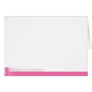 Fighting For a Cure Greeting Card