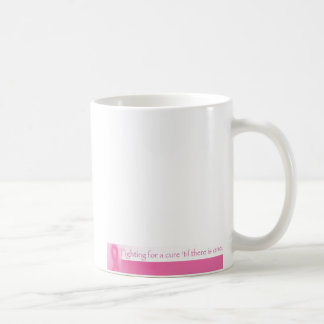 Fighting For a Cure Classic White Coffee Mug