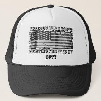Fighting For Freedom Trucker Hat