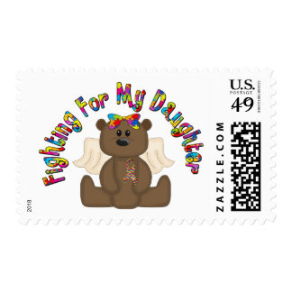 Fighting For My Daughter Postage Stamps