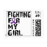 Fighting For My Girl Alzheimer's Disease 21 Stamp