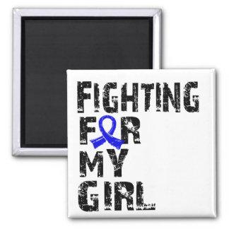 Fighting For My Girl Rheumatoid Arthritis 21 Refrigerator Magnet