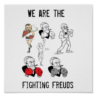 Fighting Freuds Poster