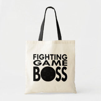 Fighting Game Boss Budget Tote Bag