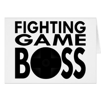 Fighting Game Boss Card