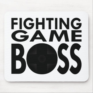 Fighting Game Boss Mouse Pad