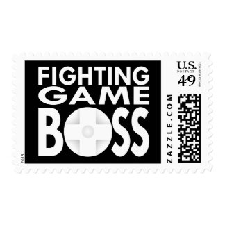 Fighting Game Boss Stamp