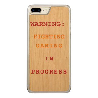 Fighting Gaming In Progress Carved iPhone 8 Plus/7 Plus Case