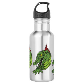 Fighting Gator Stainless Steel Water Bottle