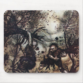 Fighting Giants Mouse Pad