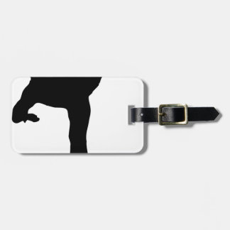 Fighting hereditary lacquer luggage tag