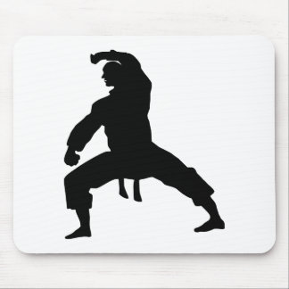 Fighting hereditary lacquer mouse pad