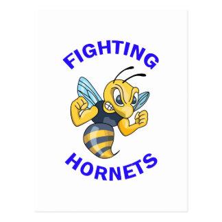 FIGHTING HORNETS POSTCARD