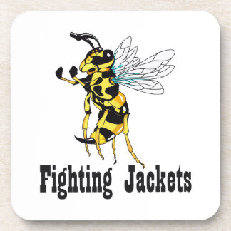 FIGHTING JACKETS DRINK COASTERS