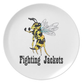 FIGHTING JACKETS DINNER PLATES