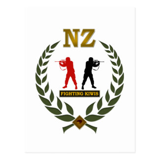 FIGHTING KIWIS 2 POSTCARD