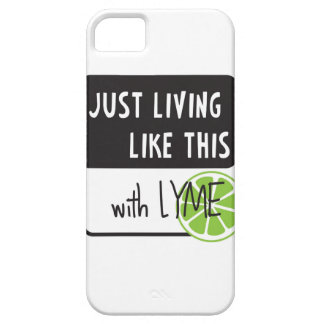 Fighting LYME disease iPhone 5 Case