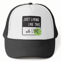 Fighting LYME disease Trucker Hat