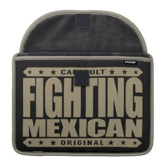 FIGHTING MEXICAN - A Pinata Smashing Mayan Warrior MacBook Pro Sleeve