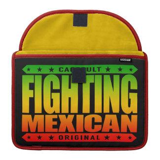 FIGHTING MEXICAN - A Pinata Smashing Mayan Warrior MacBook Pro Sleeves