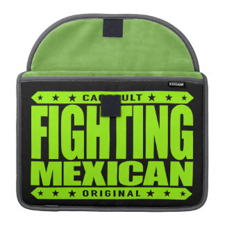 FIGHTING MEXICAN - A Pinata Smashing Mayan Warrior Sleeve For MacBooks