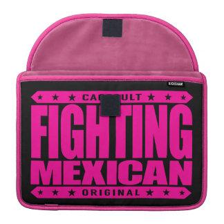 FIGHTING MEXICAN - A Pinata Smashing Mayan Warrior Sleeves For MacBook Pro