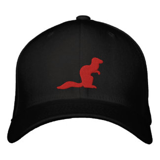 Fighting Mongooses Hat Embroidered Baseball Cap