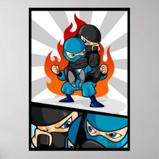 Fighting Ninjas Poster