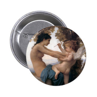 Fighting off Eros 2 Inch Round Button