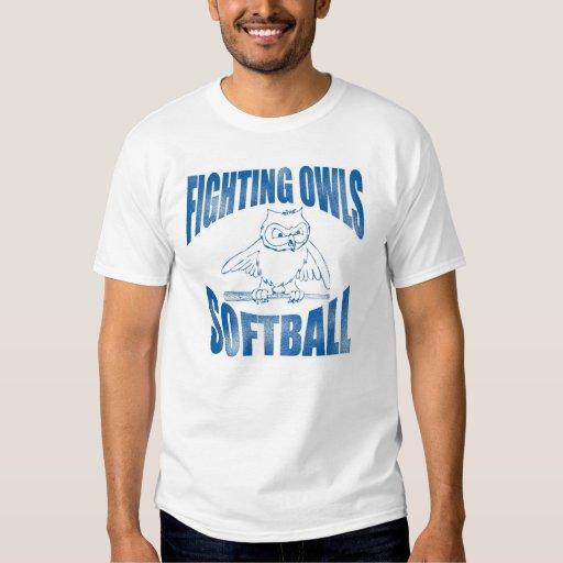 Fighting Owls Softball T-Shirt