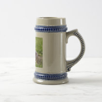 Fighting Pigs Beer Stein