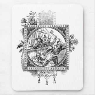 Fighting Pirates Mouse Pad