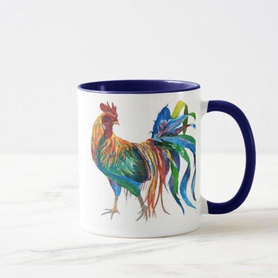 Fighting Rooster Mug