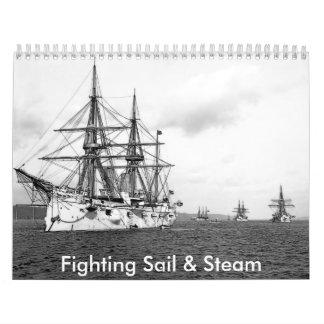 Fighting Sail Steam Calendar