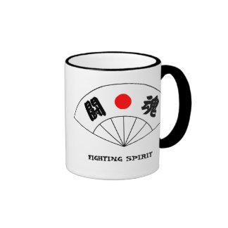 Fighting Spirit Kanji Mug