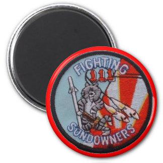 FIGHTING SUNDOWNERS VF-111 MAGNET