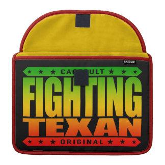 FIGHTING TEXAN - I'm Proud, Conservative Gun Owner MacBook Pro Sleeve