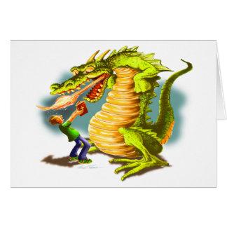Fighting the Dragon Card
