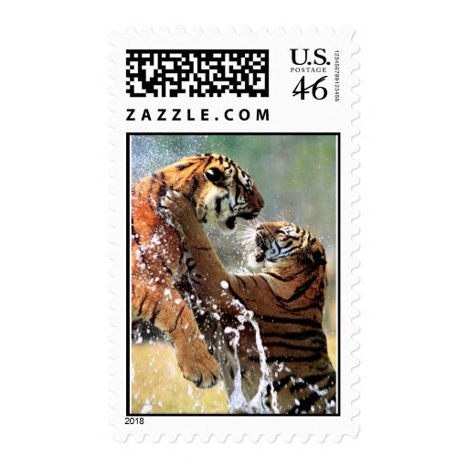 FIGHTING TIGERS STAMP